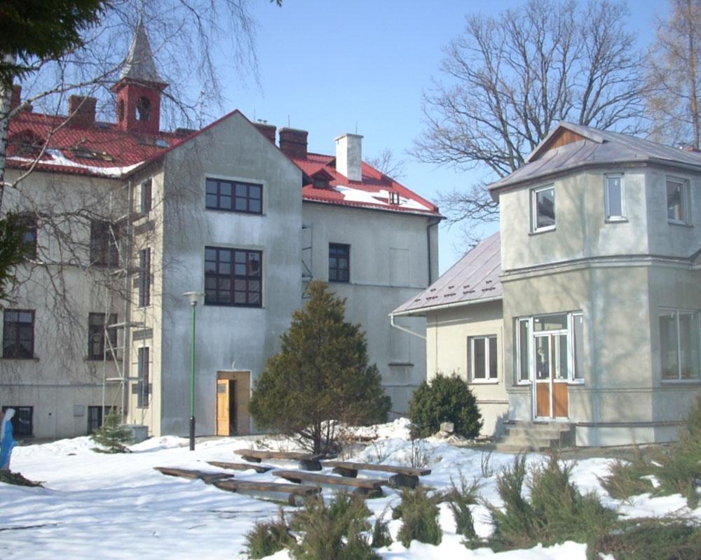 Historyczny budynek DPS